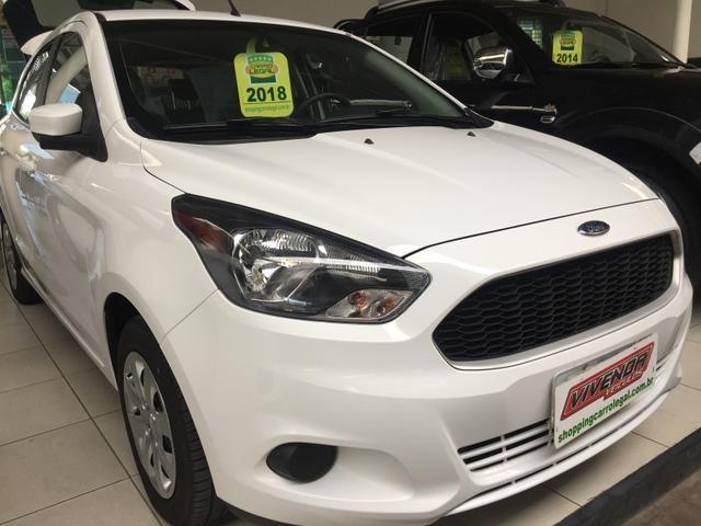 Ford KA SE 2018/2018 com apenas 22048km - Foto 2