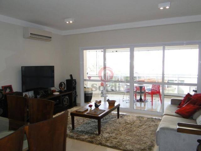 Apartamento com 3 dormitórios para alugar, 144 m² por r$ 3.700,00/mês - jardim botânico -  - Foto 3