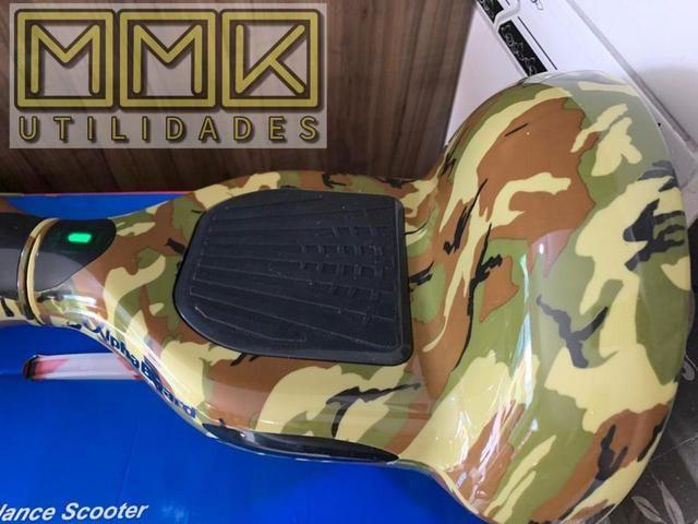 Hoverboard skate elétrico ou scooter 10 Polegadas Novo completo com Bluetooth e garantia - Foto 5