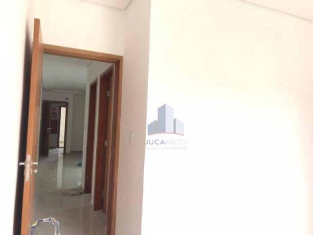 Apartamento com 2 dormitórios para alugar, 68 m² por r$ 1.125/mês - parque são vicente - m - Foto 14