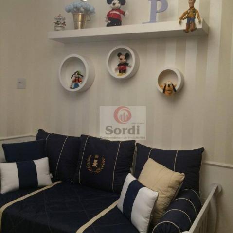 Apartamento com 2 dormitórios à venda, 82 m² por r$ 380.000 - jardim paulista - ribeirão p - Foto 14