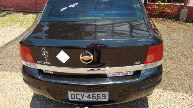 Vendo Vectra 2008 cor preta - Foto 5