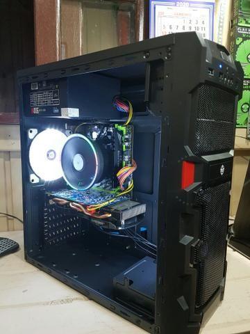 CPU GAMER Ryzen 5 1400, 16gb ram DDR4, GTX 660, SSD 120GB - Foto 2