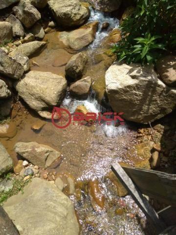 Sítio com terreno de 16.000 m² e cachoeira própria em pessegueiros, teresópolis/rj. - Foto 6