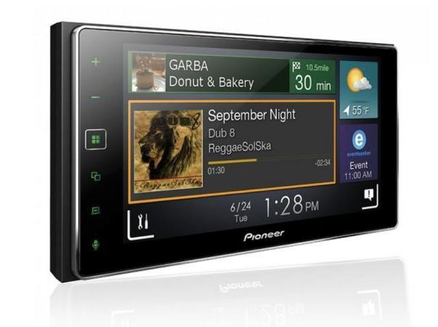 Multimidia Receiver Pioneer Sph-da138tv Tela 6.2 Capacitiva bluetooth tv digital usb - Foto 5