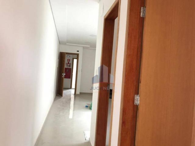 Apartamento com 2 dormitórios para alugar, 68 m² por r$ 1.125/mês - parque são vicente - m - Foto 8