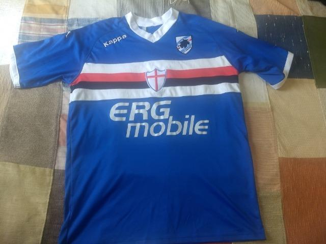 Camisa de futebol Sampdoria kappa