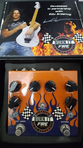 Pedal guitarra Fire Burn It