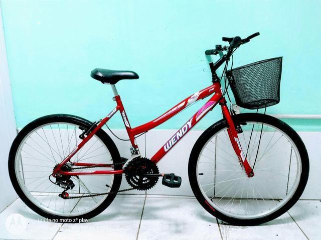 Vendo bicicleta aro 26 de marcha