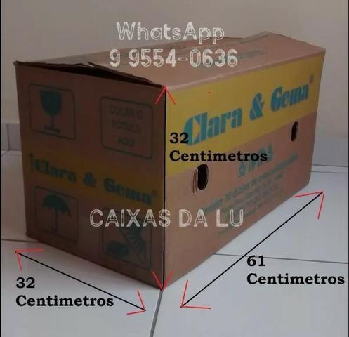 Caixas de Papelão para mudança - R$2,00 (unidade * (whatsApp)
