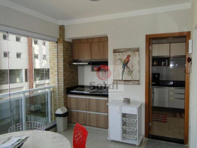 Apartamento com 3 dormitórios para alugar, 144 m² por r$ 3.700,00/mês - jardim botânico -  - Foto 5