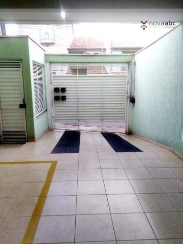 Apartamento com 2 dormitórios para alugar, 56 m² por R$ 1.100,00/mês - Parque Oratório - S - Foto 3