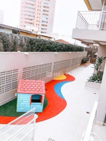 Apartamento com 2 dormitórios para alugar, 71 m² por r$ 2.200/mês - vila assunção - santo  - Foto 7