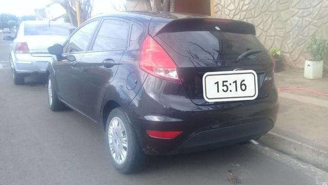 New fiesta hatch 1.5 2014 completo impecável - Foto 4
