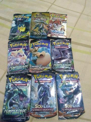 Vendo figurinhas do Pokémon original da copag