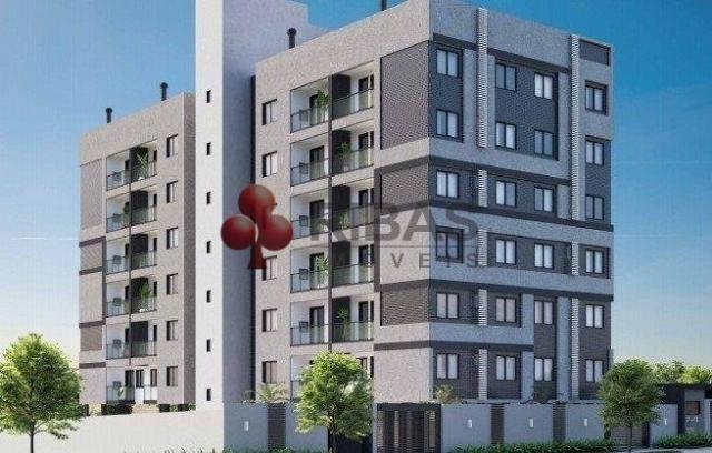 Apartamento à venda com 2 dormitórios em Capão raso, Curitiba cod:15426