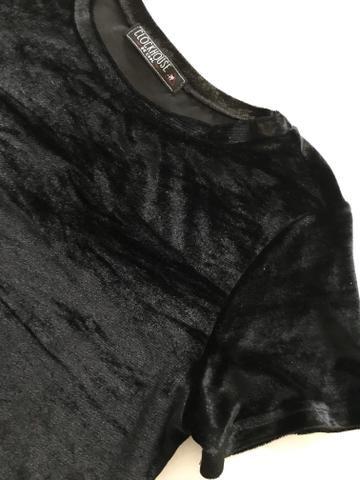 Blusas Camisetas Veludo - Foto 6
