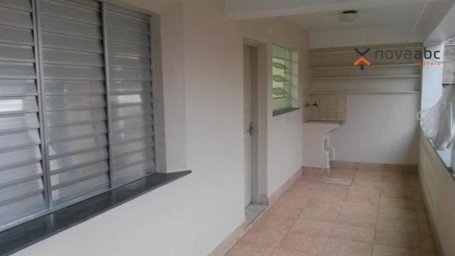 Apartamento com 1 dormitório para alugar, 58 m² por R$ 1.300/mês - Vila Floresta - Santo A - Foto 2