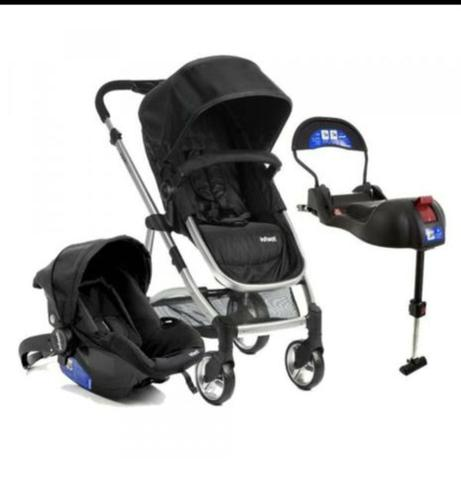 Carrinho de bebê Infanti + bebe conforto + base Isofix