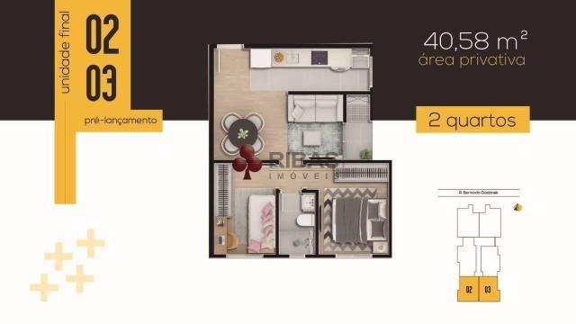 Apartamento à venda com 2 dormitórios em Tingui, Curitiba cod:15416 - Foto 19
