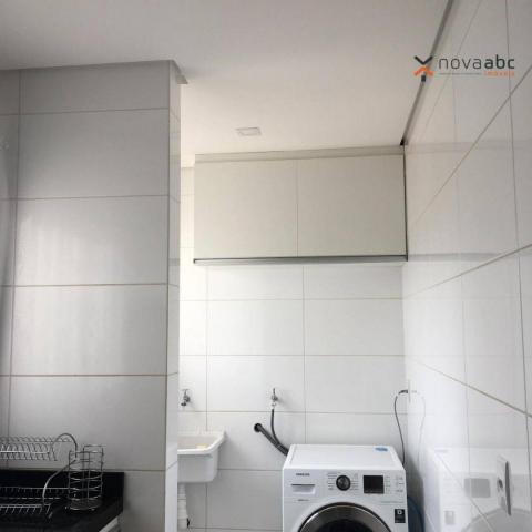 Apartamento com 2 dormitórios para alugar, 63 m² por R$ 2.100/mês - Campestre - Santo Andr - Foto 19