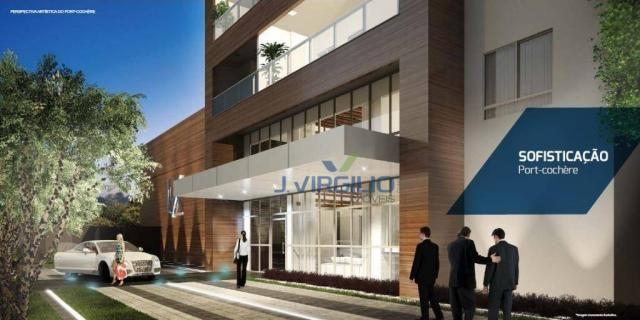 Apartamento com 1 quarto à venda, 39 m² por r$ 225.000 - setor bueno - goiânia/go