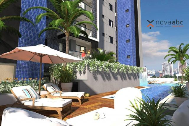 Apartamento com 2 dormitórios e varanda gourmet para alugar, 70 m² em condomínio completo  - Foto 12