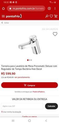 Torneira inox ( bactéria-free) barbada - Foto 6
