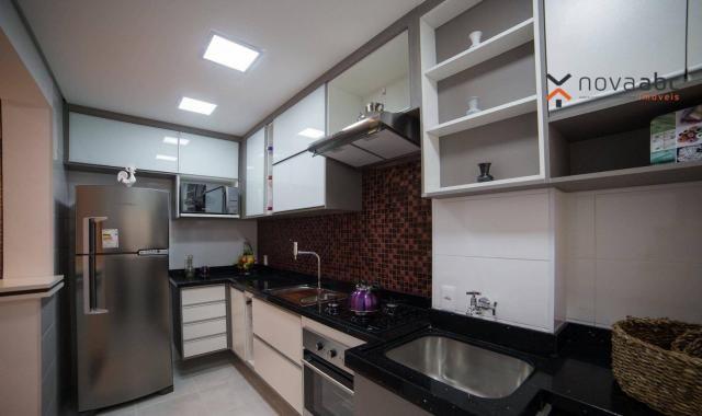 Apartamento com 2 dormitórios e varanda gourmet para alugar, 70 m² em condomínio completo  - Foto 5