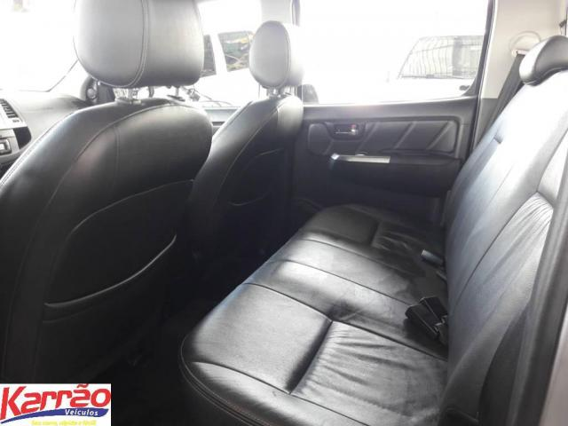 Toyota Hilux CD 4X4 SRV - Foto 7