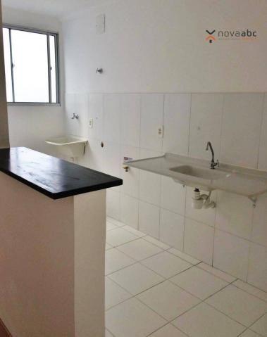 Apartamento com 2 dormitórios para alugar, 47 m² por R$ 1.300/mês - Vila Homero Thon - San - Foto 5