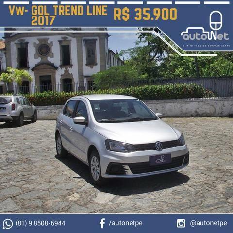 VW- Volkswagen Gol TrendLine 1.6 - Carro Excelente!!!