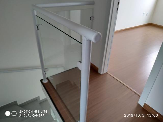 Sobrado geminado com 107 m² no Bairro Iririu - Foto 7