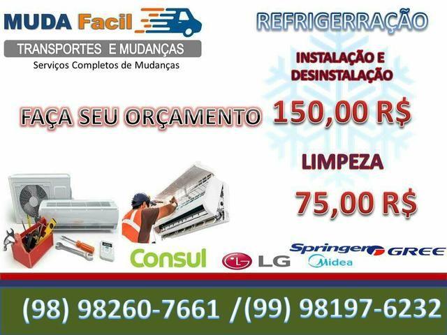 Mudança e Frete! caminhão Baú dentro de São Luiz. R$125,00 - Foto 2