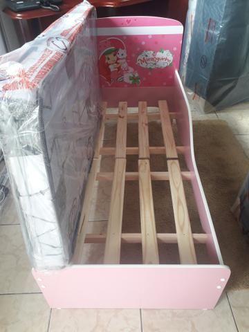 Mini cama nova c/ colchão # entrego montagem grátis - Foto 2