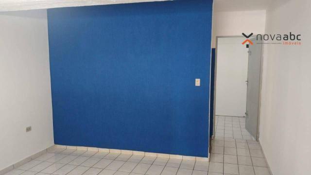 Sala para alugar, 42 m² por R$ 800/mês - Centro - Santo André/SP