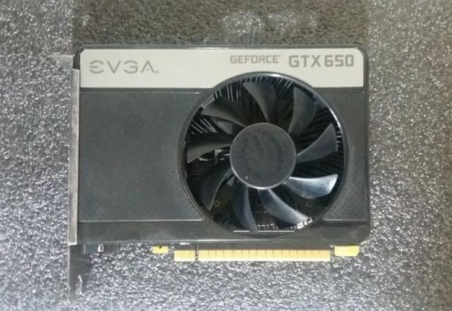 Placa vídeo Evga Gtx 650 1gb 128bits