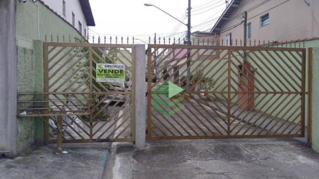 Sobrado com 2 dormitórios à venda, 85 m² por R$ 510.000 - Dos Casa - São Bernardo do Campo