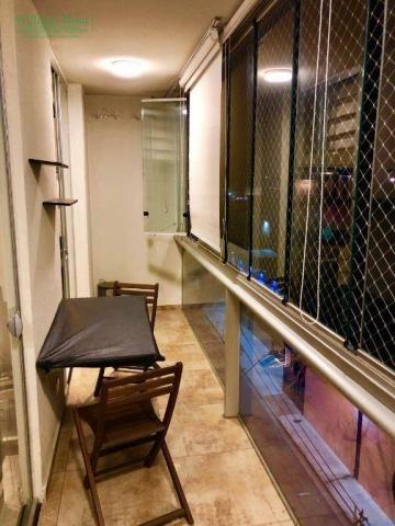 Studio com 1 dormitório para alugar, 36 m² por r$ 1.950/mês - vila augusta - guarulhos/sp - Foto 16