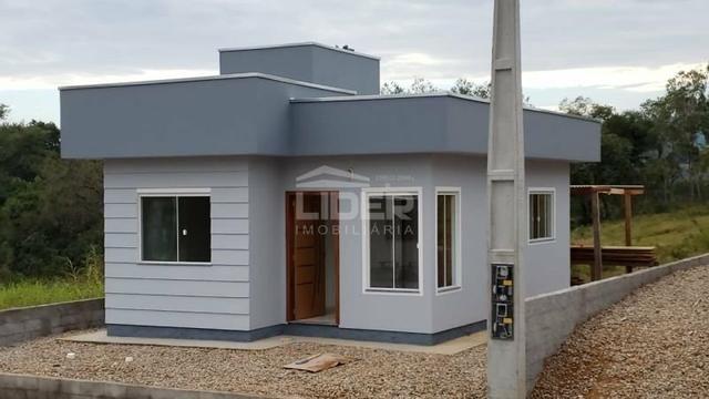 Casa pronta para financiamento MCMV