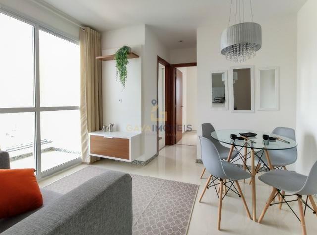 Apartamento decorado com 2 quartos e 1 suíte pronto para morar! - Foto 3