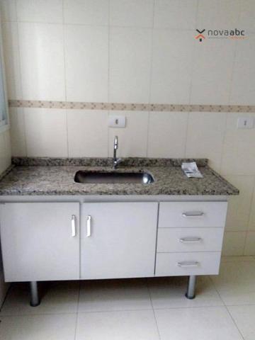 Apartamento com 2 dormitórios para alugar, 56 m² por R$ 1.100,00/mês - Parque Oratório - S - Foto 8