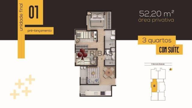 Apartamento à venda com 3 dormitórios em Tingui, Curitiba cod:15417 - Foto 18