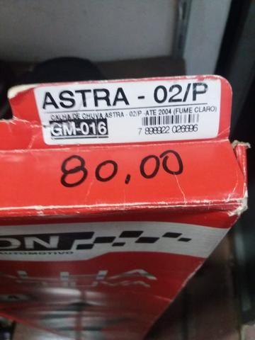 Calha de chuva Astra 2 portas nova na embalagem