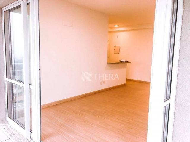 Apartamento com 2 dormitórios para alugar, 71 m² por r$ 2.200/mês - vila assunção - santo  - Foto 9