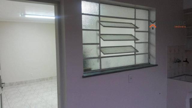 Apartamento com 1 dormitório para alugar, 58 m² por R$ 1.300/mês - Vila Floresta - Santo A - Foto 4