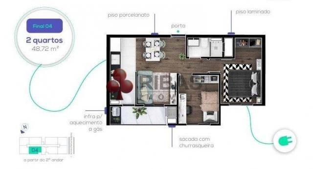 Apartamento à venda com 2 dormitórios em Capão raso, Curitiba cod:15426 - Foto 20