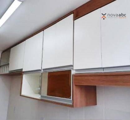 Apartamento com 2 dormitórios para alugar, 50 m² por R$ 1.000/mês - Utinga - Santo André/S - Foto 5