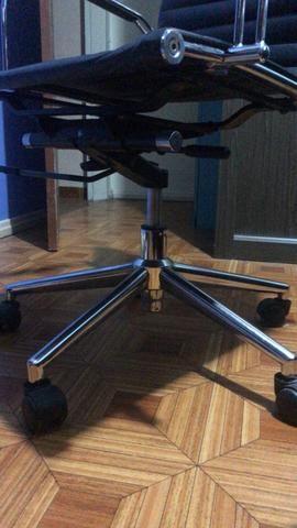 Cadeira escritório presidente giratória - Foto 6