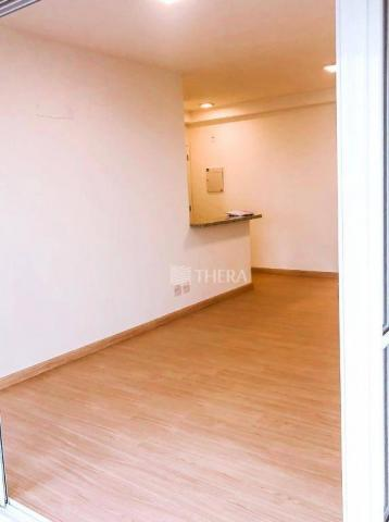 Apartamento com 2 dormitórios para alugar, 71 m² por r$ 2.200/mês - vila assunção - santo  - Foto 11